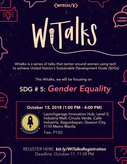 witalks poster TO POST