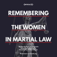 Remembering the Women in Martial Law
