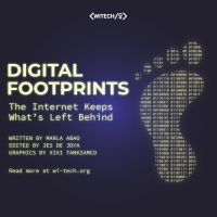 Digital Footprints: The Internet Keeps What's Left Behind